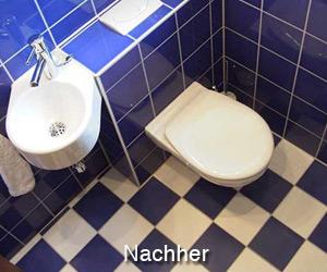 Gäste WC nachher