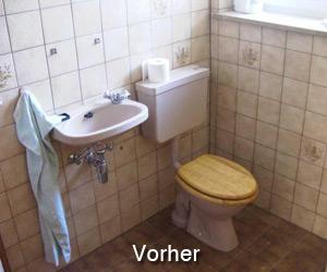 Gäste WC vorher